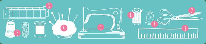 8 Herramientas y utensilios imprescindibles para coser