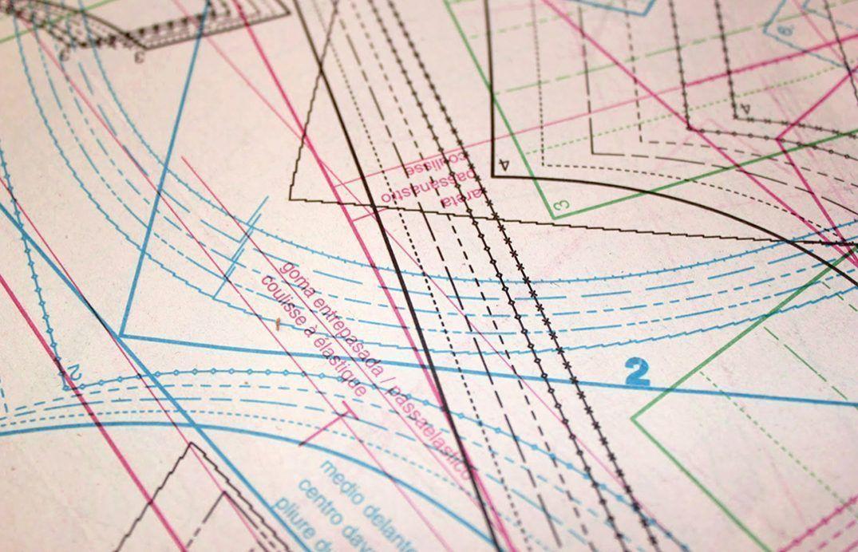 Como marcar e interpretar los patrones de costura - nastasianash