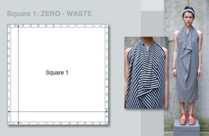 patrón cero residuos