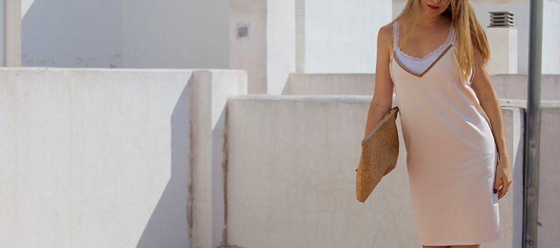 vestido lencero zero waste