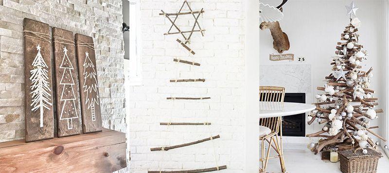 Diseña y construye tu propio árbol con materiales reciclados.